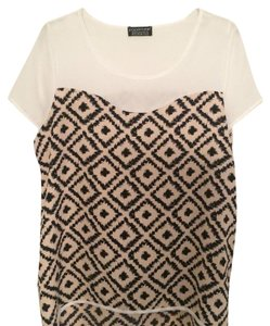 Papermoon Top White/ pink/ black