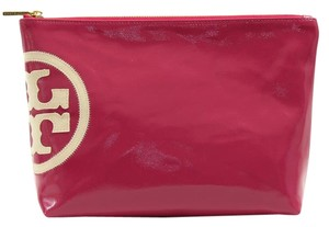 Tory Burch Tory Burch Beach Dipped Large Slouchy Cosmetic Bag, Island Pink