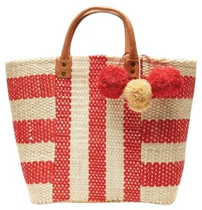 Mar Y Sol Tote in Coral