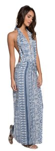 Blue Mara Maxi Dress by Elan