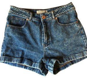 Bullhead Denim Co. Cuffed Shorts Blue