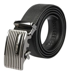 "Cavalli Bianchi Cavalli Bianchi Men's Fashion Belt Made of Genuine Leather with Unique Auto Lock Buckle#1 (32-34"" S)"