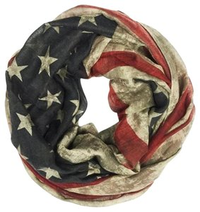 Other Vintage American Flag Infinity Scarf