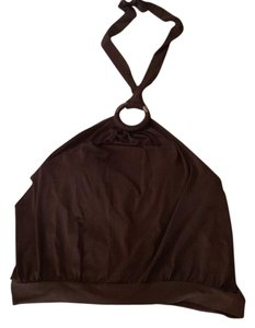 Shape FX Brown Halter Top