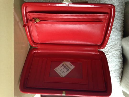 Sergio Rossi Red Clutch