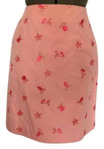 Lilly Pulitzer Skirt Pink, yellow