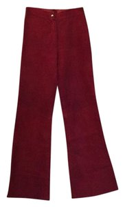 Flare Pants Red wine