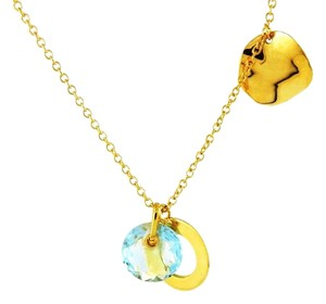 Ippolita 18k Yellow Gold Blue Topaz Interchangeable Ladies Necklace