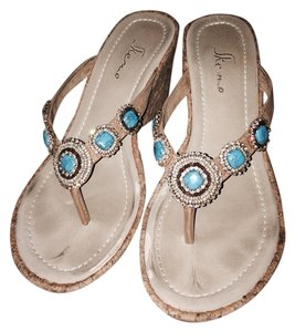 Skemo Turquoise Wedges