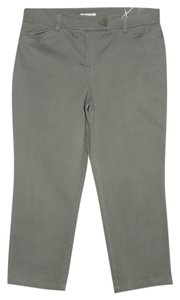 Jones New York Capri/Cropped Pants Army Green