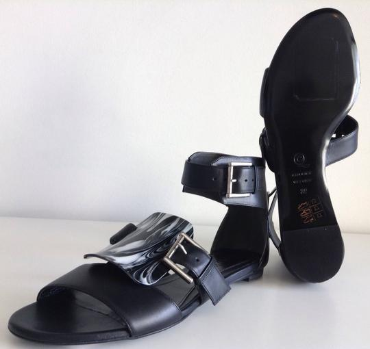 Alexander McQueen Black Sandals