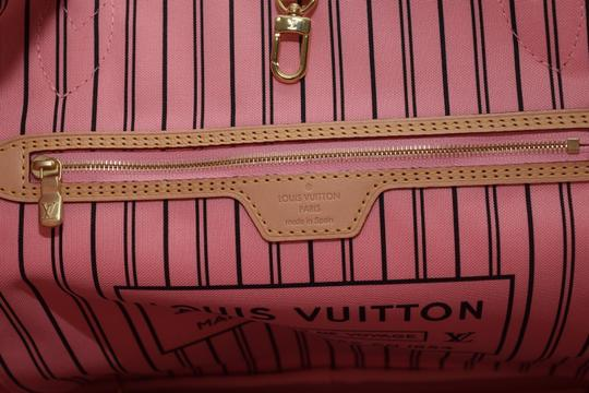 7c3c1f67d71 Louis Vuitton Neverfull 2016 Mm In Limited Edition Tropical Journey  Collection For Summer 2016 M41979 Red / Pink Coated Canvas / Leather  Shoulder Bag