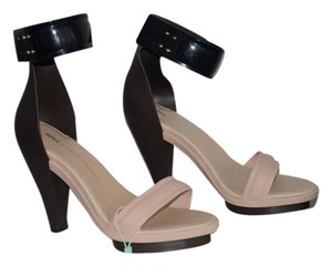 Melissa Pedro Lourenco Eco-friendly Nude, Black Sandals