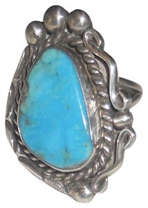 Authentic Indian turquoise ring