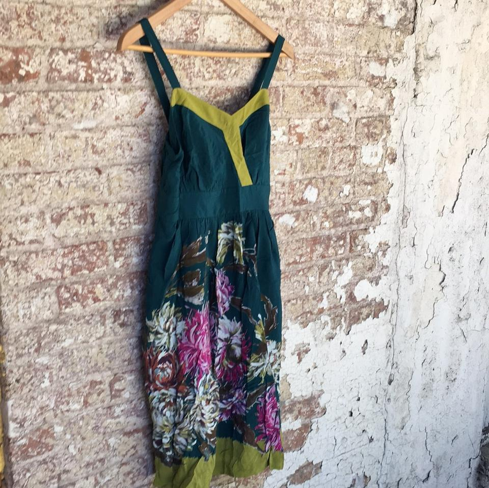 Anthropologie maxi dress tradesy for Anthropologie mural maxi dress
