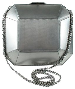 Chanel Hard Shell Box Lego Clutch Cross Body Bag
