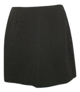 United Colors of Benetton Mini Pencil Polyester Mini Skirt Gray