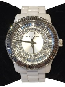 Michael Kors Michael Kors Women's Glitz White Ceramic Watch Model # MK5361