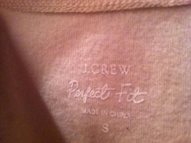 J.Crew Fitted Half Sleeve Gently Used Top Tan and black