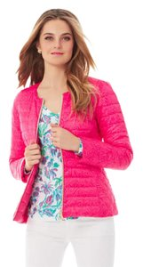 Lilly Pulitzer Palmbeach Reversible Bright Pink Jacket