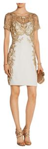 Marchesa Notte By Embroidered Dress
