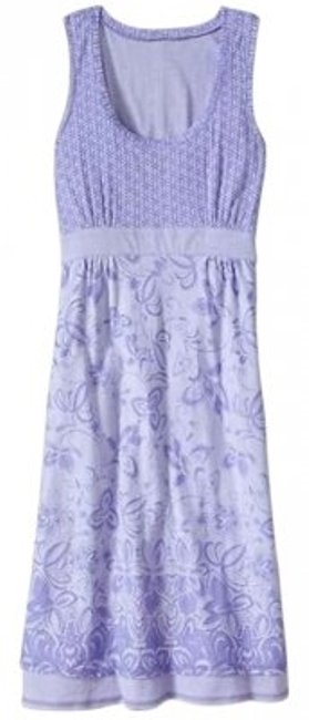 Athleta short dress Lavender Empire Waist on Tradesy