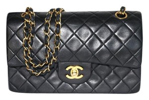 Chanel Vintage Lambskin Small Shoulder Bag