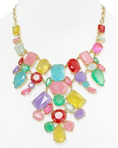 Kate Spade NWT Kate Spade Gumdrop Bib Statement Necklace Colorful Whimsical Beauty
