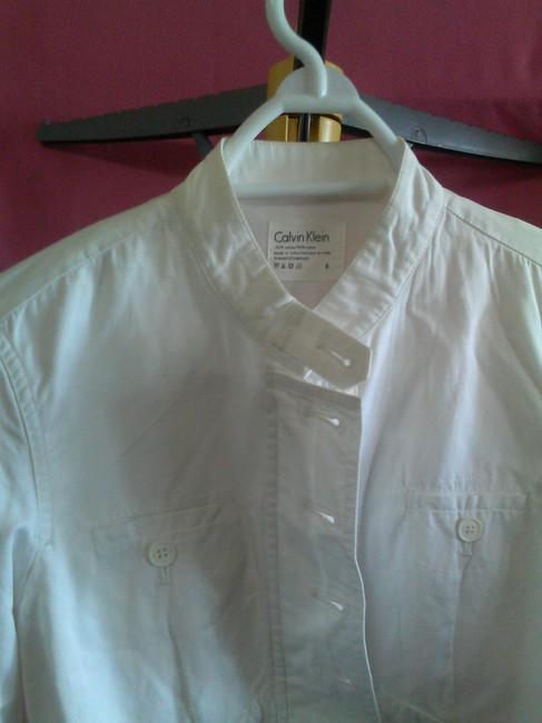 Calvin Klein white Jacket