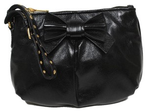 Miu Miu Prada Vitello Clutch Wristlet in Black