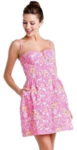 Lilly Pulitzer short dress Pink Bustier on Tradesy