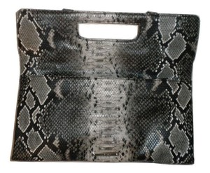 Nine West Snakeskin Animal Print Clutch
