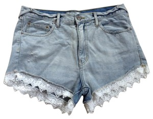 Free People Denim Shorts-Light Wash