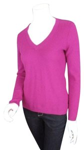 Ann Taylor Pink 100 Cashmere Sweater
