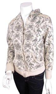 Miss Me The Buckle Floral Print Full Zip Up Sweater Sweatshirt