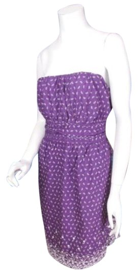 b87591846fd durable service Torrid Purple Butterfly Floral Embroidered Strapless Summer  Dress 4x