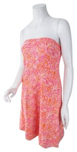Lilly Pulitzer short dress Orange, Pink, White Orange on Tradesy