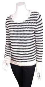 Gap Cream Striped Sweater