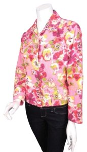 Coldwater Creek Floral Pink Jacket