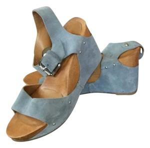Michael Kors Blue/Light Blue Wedges