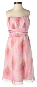 Nanette Lepore short dress Silk Floral Empire Waist on Tradesy