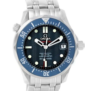 Omega Omega Seamaster Midsize James Bond Automatic Watch 2222.80.00 Unworn