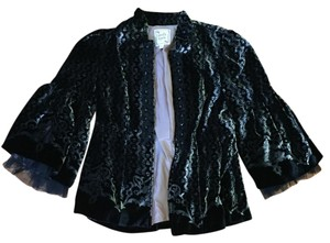 Nanette Lepore Textured Black Jacket