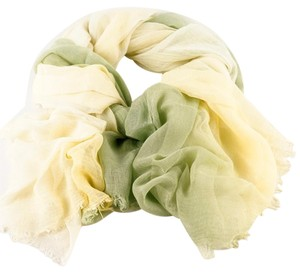 Other Shaded Green Rayon & Silk Scarf