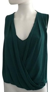 BCBGMAXAZRIA Top Dark green