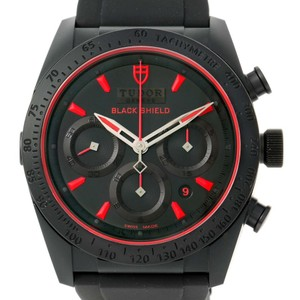 Tudor Tudor Fastrider Black Shield Rubber Mens Watch 42000CR Unworn