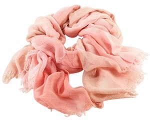 Other Shaded Pink Rayon & Silk Scarf