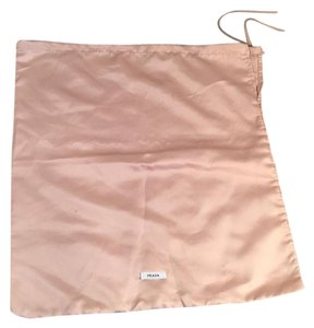 Prada Peach Silk Satin Storage Dust Cover Bag