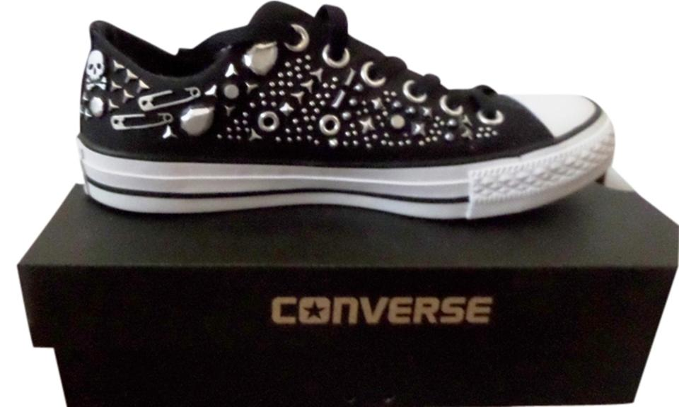 Converse Black Taylor Oxford Studded Oxford Taylor Sneaker Sneakers 61ba3d