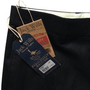 Jack Wills Straight Pants navy